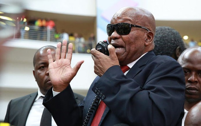 Former president Jacob Zuma reiterated on Saturday that he was not afraid of going to jail. (Picture by TimesLive)