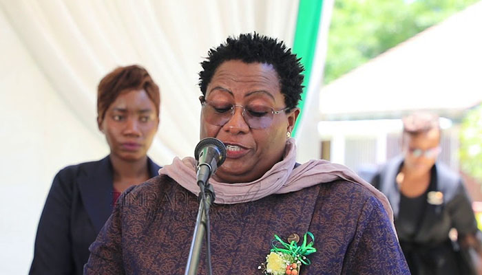 ZACC chairperson Justice Loice Matanda-Moyo
