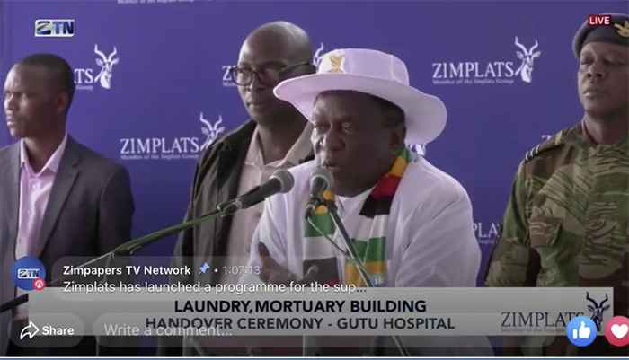 President Emmerson Mnangagwa shocked Zimbabweans after he boasted in a recent speech that he constructed a state-of-the-art mortuary in Kwekwe and offered a reward to the first family that put their relative there before burial.