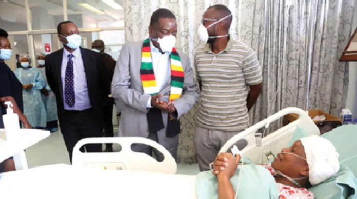 Mnangagwa mourns First Lady's bodyguard killed in motorcade crash