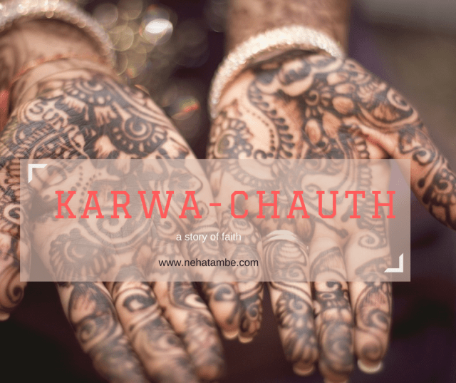 Karva-chauth a story of faith