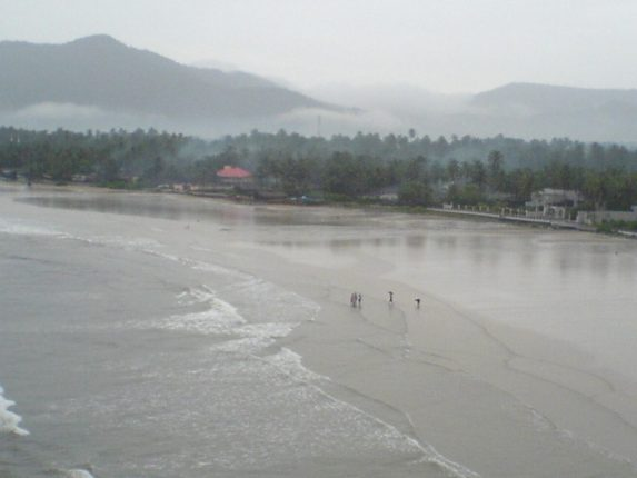 The beautiful beach of Murdeshwar