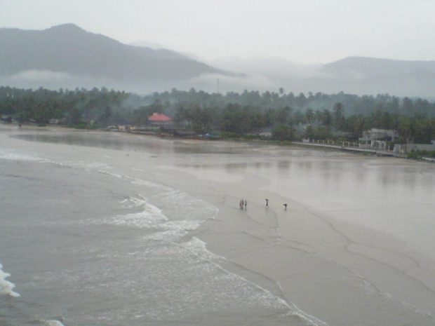 The beautiful beach of Murdeshwar