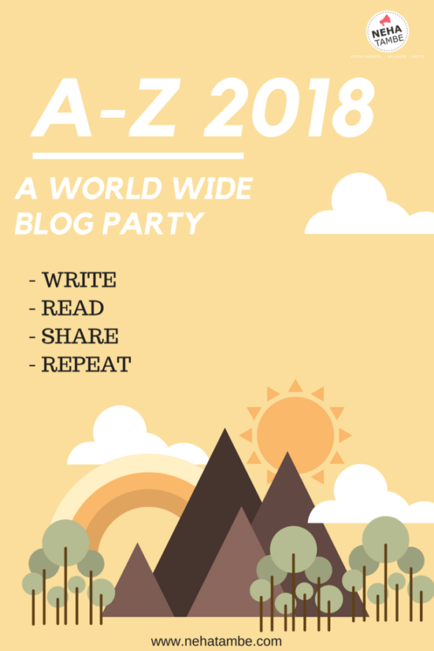 A-Z is a blogging challenge that will help push your blog to the next level