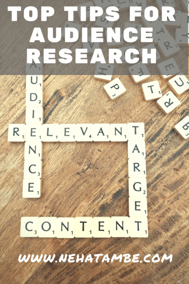 Top tips to conduct audience research for small businesses