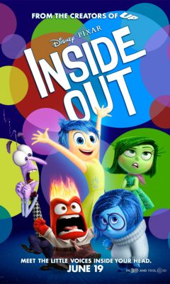 An animated movie by Disney. Inside out talks about emotions as small beings in our head