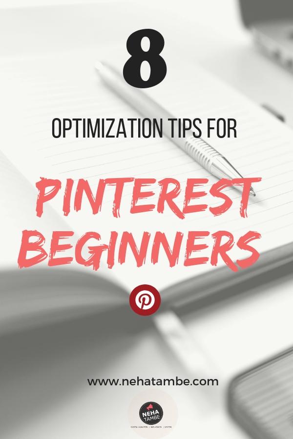 optimization tips pinterest beginners