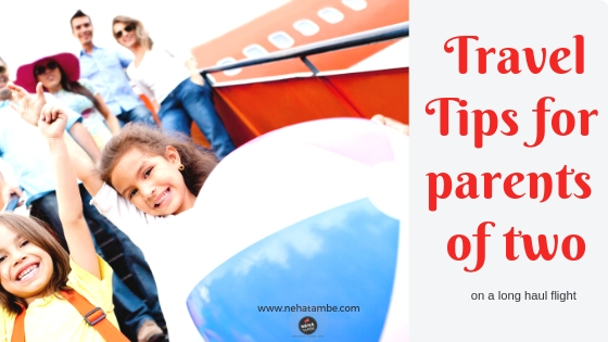 Travel tips for parents taking their children on a long flight from india