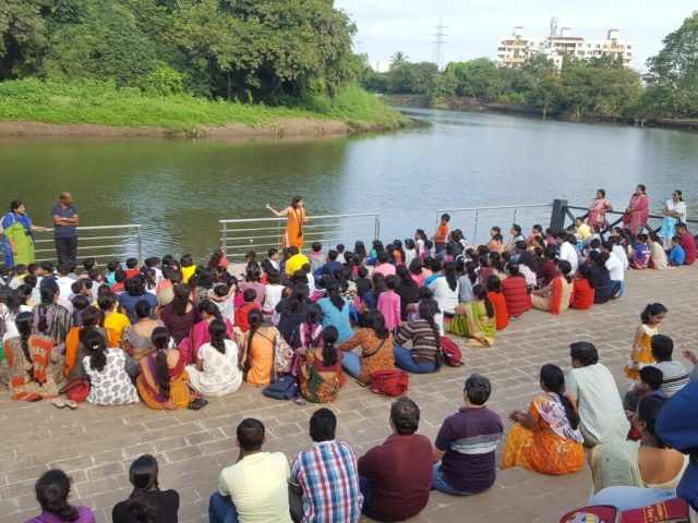Jeevitnadi - Living river foundation activities river walk