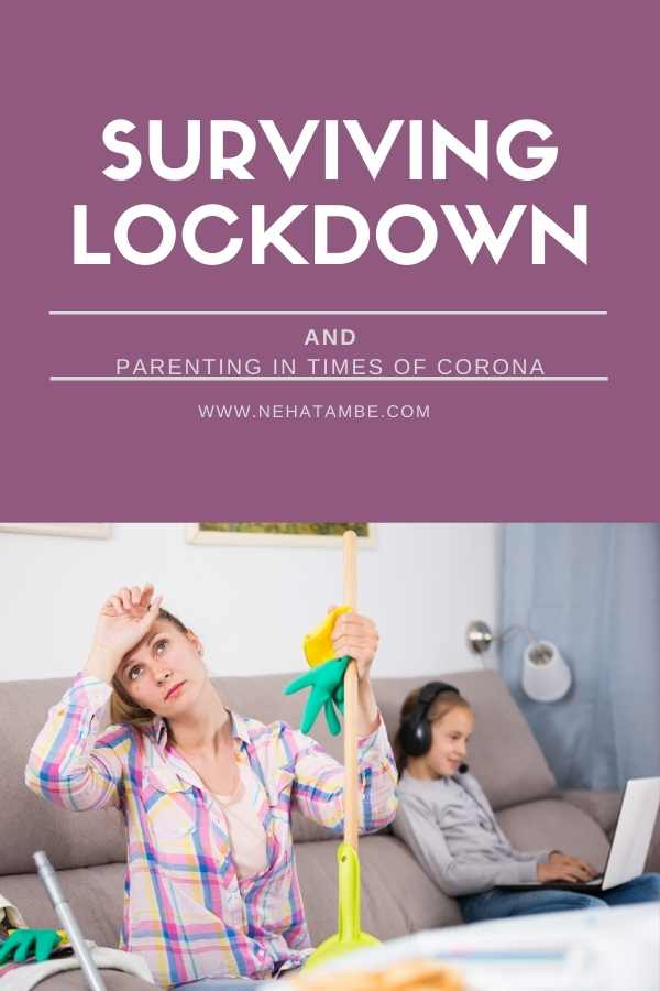 parenting and surviving lockdown