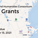 New England Humanities Consortium Seed Grants. Proposals due September 15, 2021