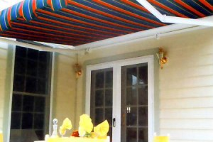 New England Hearth and Home offers CAPE COD AWNINGS by ALUTEX