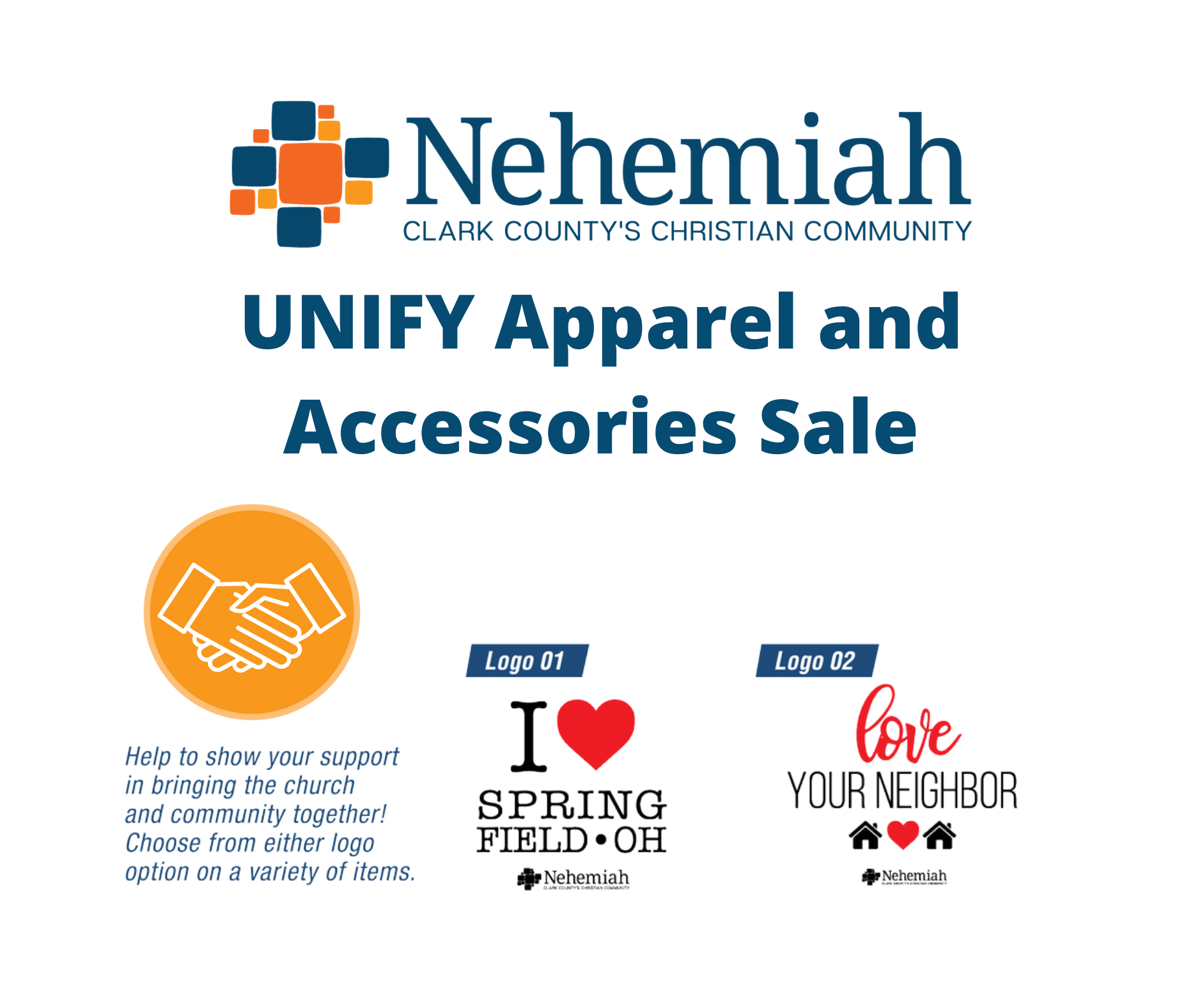 UNIFY Apparel and Accessories Fundraiser (1)