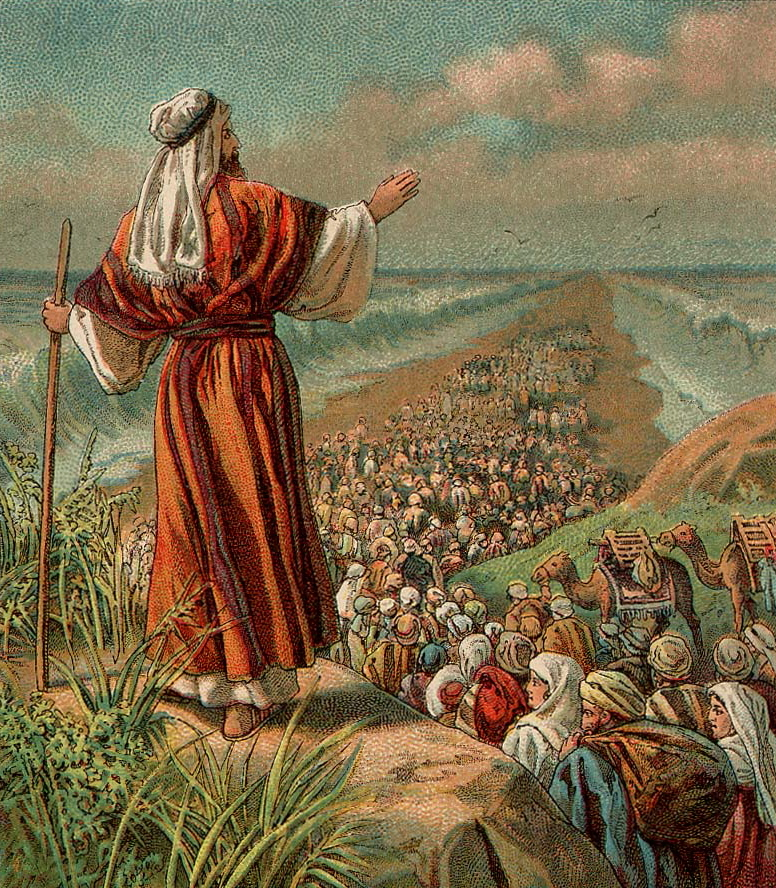 Watching the Children of Israel coming out of Egypt ( Zohar)