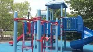 Playground at Dennis Street Park.
