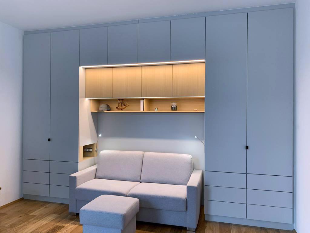 Wohnzimmerverbau Seite Leistungen