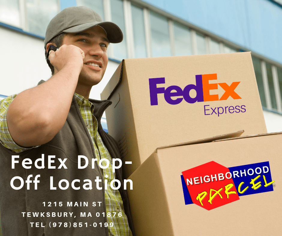 FedEx Shipping Center in Tewksbury, Dracut MA