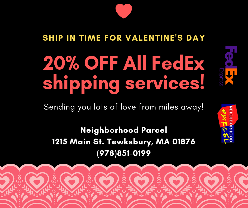 Valentine's Day Shipping Overnight Coupon Offer