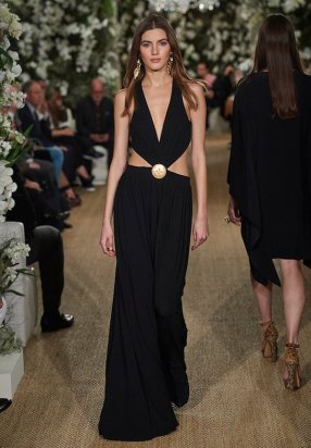 Ralph Lauren 2017 Matte jersey evening dress