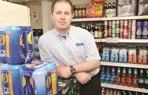 Nisa Clandeboye store manager, Alan Crawford