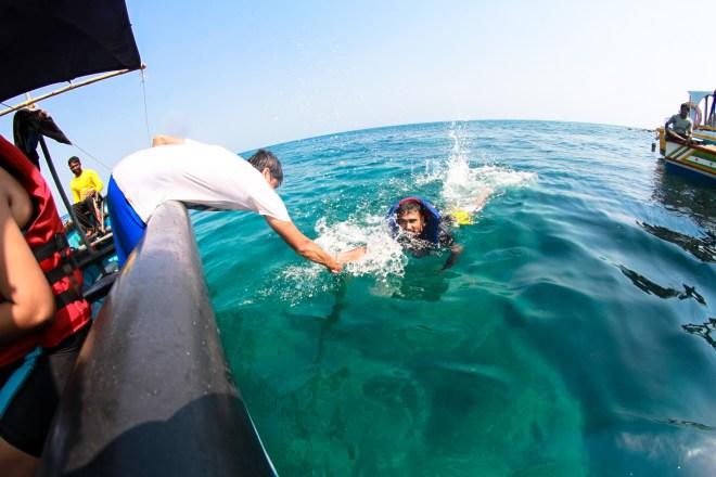 scuba diving at netrani island