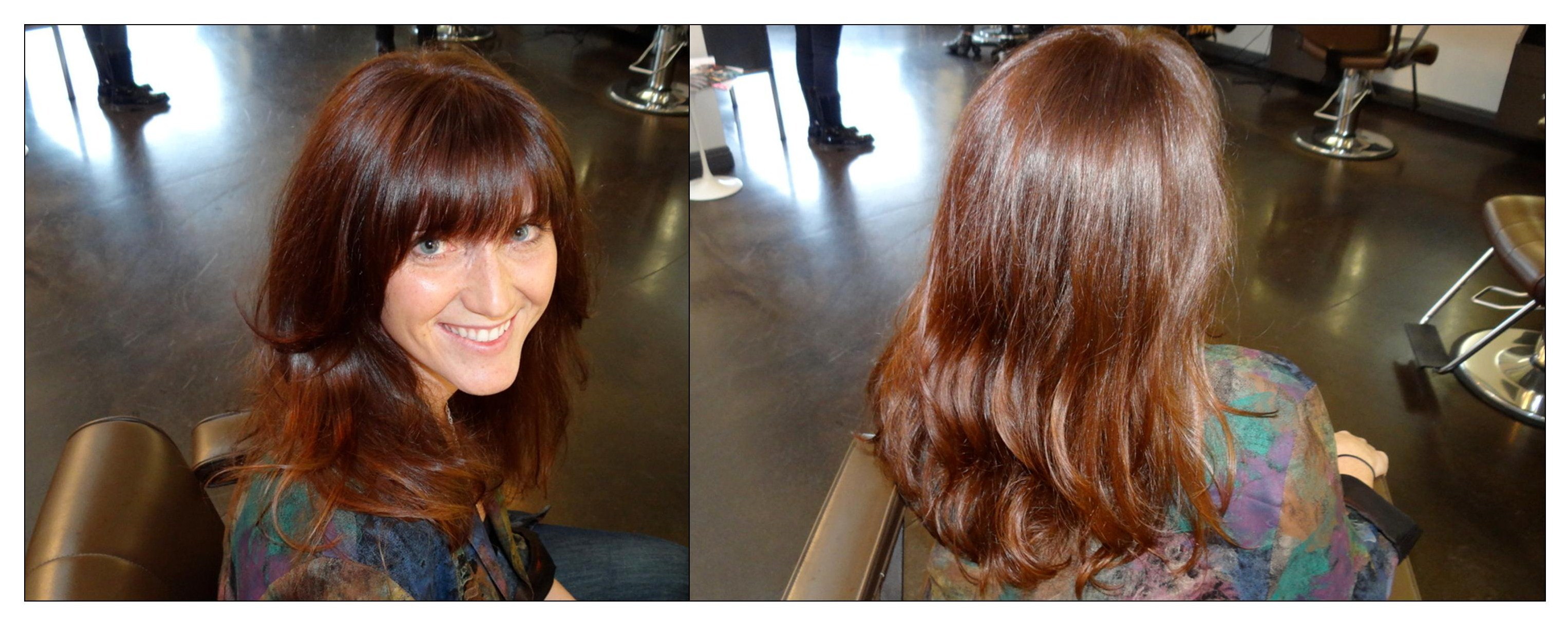 Before Amp After Amazing Hair Makeover Neil George