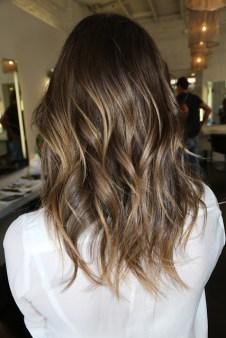 brunette highlights