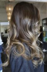 brunette caramel highlights