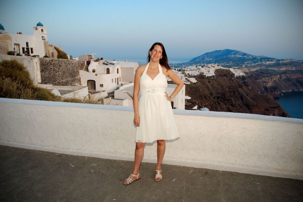 post wedding photography destination santorini greece