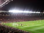 First half United corner