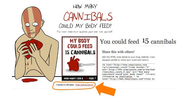 how to go viral - cannibal quiz