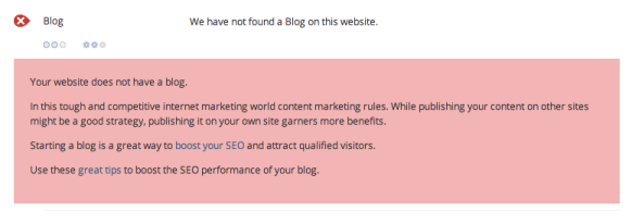 We have not found a blog on this site woorank free SEO tools