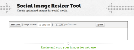 social media image resizer tool graphic design guide