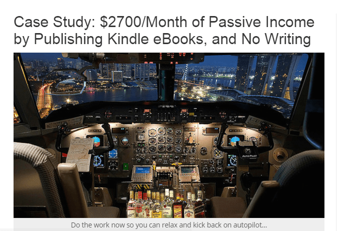 writing kindle books blog post how to monetize a site with less than 1,000 daily visitors
