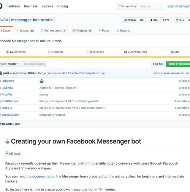 creating your own facebook messenger bot