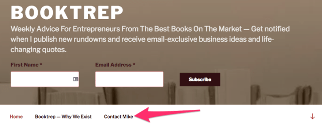 Booktrep Weekly Advice For Entrepreneurs From The Best Books On The Market Get notified when I publish new rundowns and receive email exclusive business ideas and life changing quotes