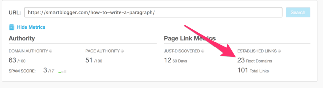 Open Site Explorer Link Research Backlink Checker Moz 1