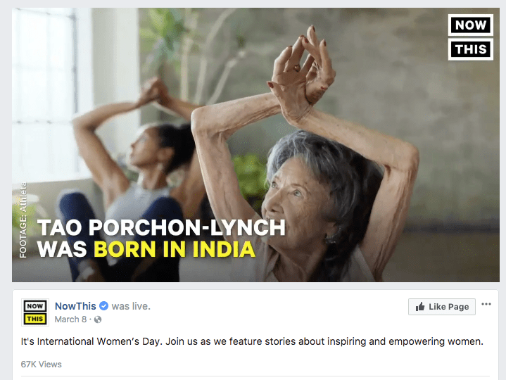 21 NowThis It s International Women s Day Join us as we feature