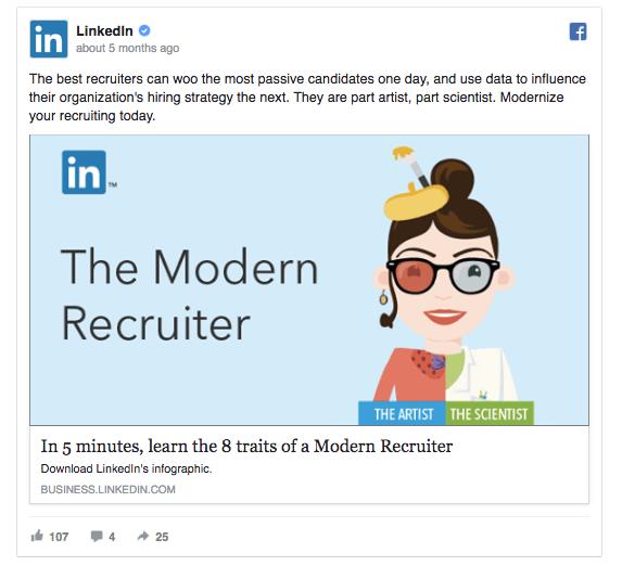 LinkedIn ad 1