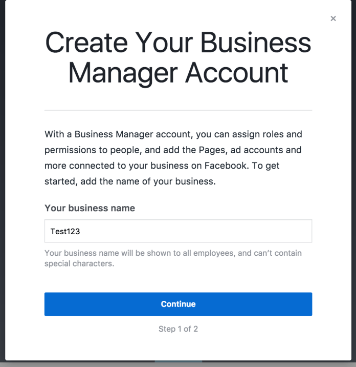 Business Manager Overview