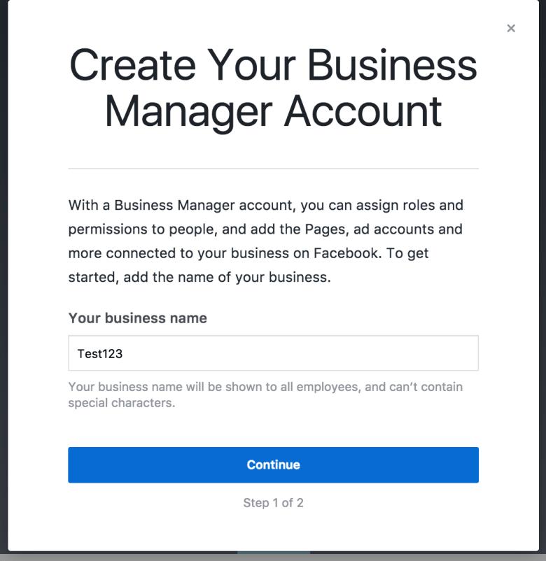 Panoramica di Business Manager