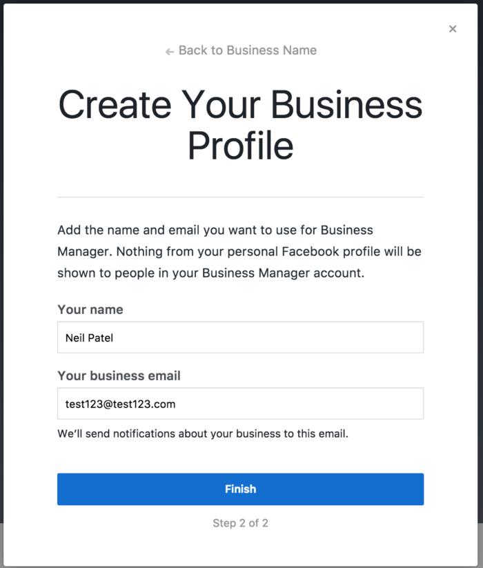 social media marketing facebook business manager