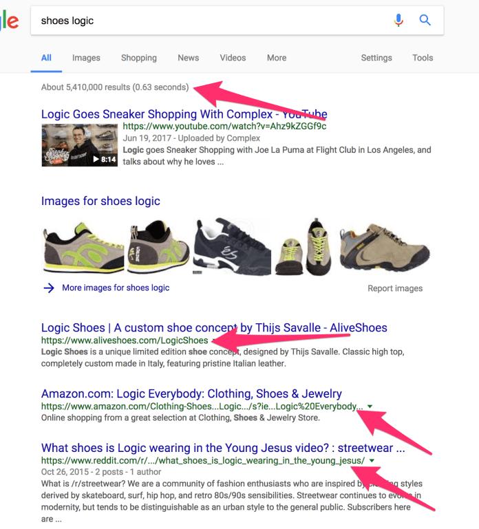 shoes logic Google Search