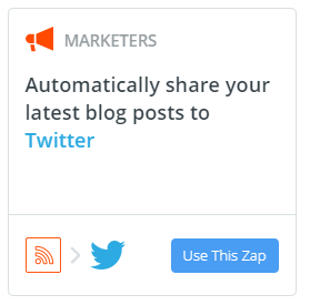 zapier twitter integration