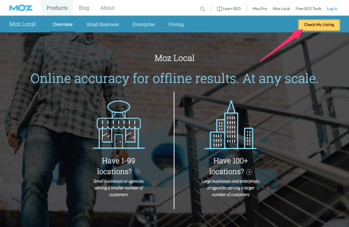 Moz Local Overview Moz
