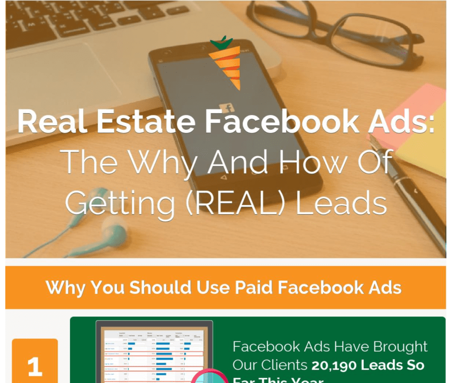 Real Estate Facebook Ads The Why and How of Getting Leads Infographic 1