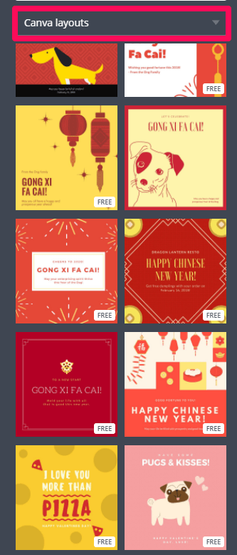 choose canva template how to get snap chat followers
