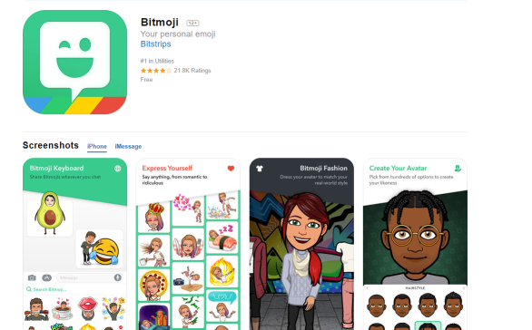 download bitmjoi to get more snapchat friends