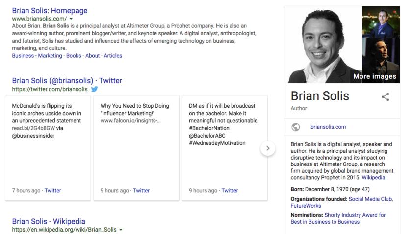 Brian Solis Google Search
