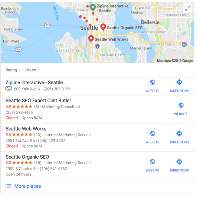 seattle seo expert Google Search
